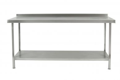 Stainless Steel Wall Table (1800mm W x 600 D x 900 H)(Fully Assembled)