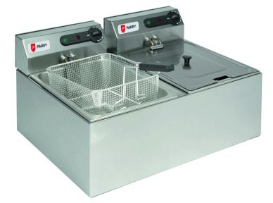 Parry 1862 Electric Double Fryer 2x3kW