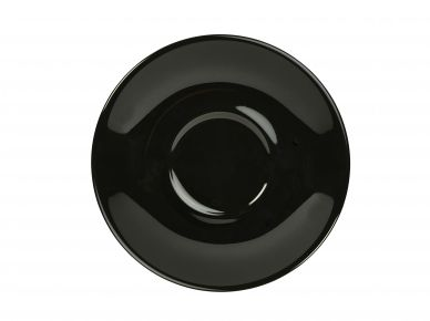 Royal Genware Black Saucer 16cm For CR973,CR974,CR975,CR976,CR977,CR978 (6 Pack)