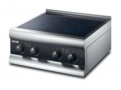 Lincat  SLI42  four zone induction hob