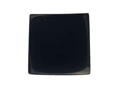 Simply Black Square Plate 27.5cm (4 Pack)