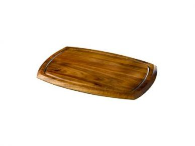 Reversible Acacia Wood Serving Board 36cm x 25.5cm x 2cm