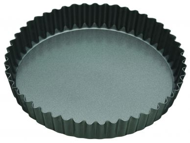 Master Class Non-Stick 20cm Loose Base Fluted Round Quiche Tin