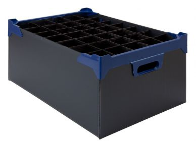 Glassware Storage Box 35 Compartment 200mm High