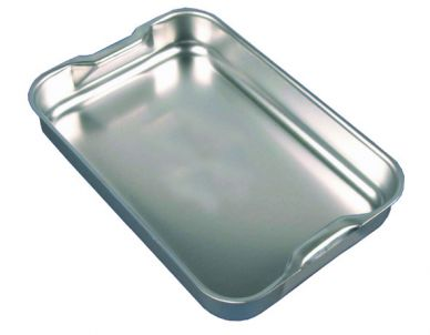 Aluminium Baking Dish With Integral Handles 37cm x 26.5cm
