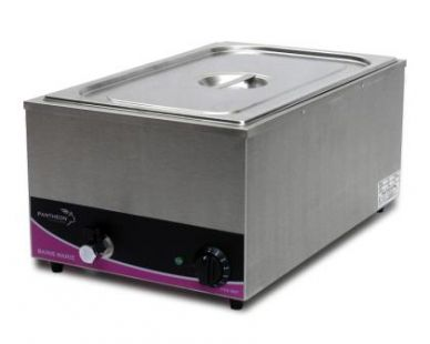 Pantheon BM1 Bain Marie Wet or Dry 1/1 Gastronorm (Including Pans)
