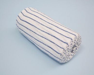 Mutton Cloth Blue/White