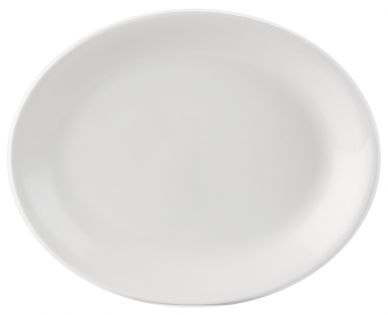Simply Tableware 30x24 cm Oval Plate (4 Pack)
