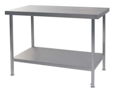 S/S Centre Table (600mm W x 600 D x 900 H)(Fully Assembled)