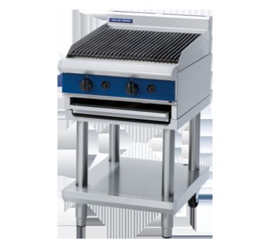 Blue Seal G594-LS Gas Chargrill with Leg Stand 600mm Wide