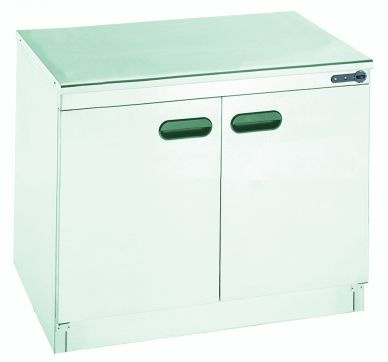 Parry 9214 Electric Double Door Hot Cupboard/Plate Warmer 2kW