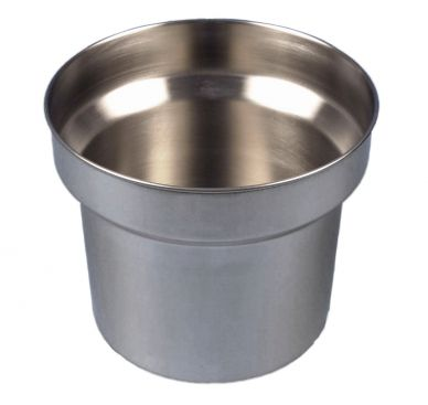 Stainless Steel Round Bain Marie Pot (4.2ltr)