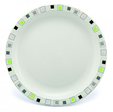 Harfield Polycarbonate Patterned Plates 17cm (12 Pack)