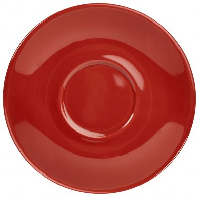 Royal Genware Red Saucer 12cm For CR1238 (6 Pack)