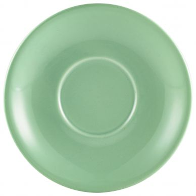 Royal Genware Green Saucer 12cm For CR1242 (6 Pack)