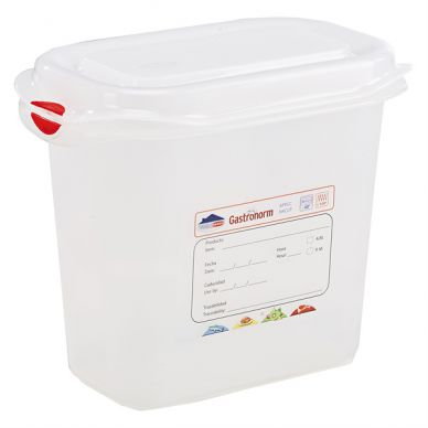 GN Storage Container 1/9 150mm Deep 1.5L (12 Pack)