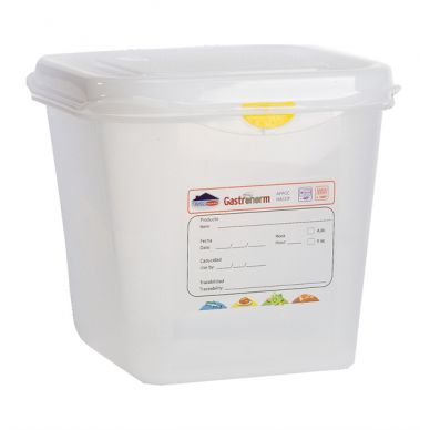 GN Storage Container 1/6 150mm Deep 2.6L (12 Pack)
