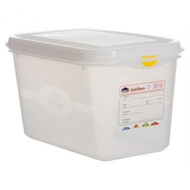 GN Storage Container 1/4 150mm Deep 4.3L (6 Pack)