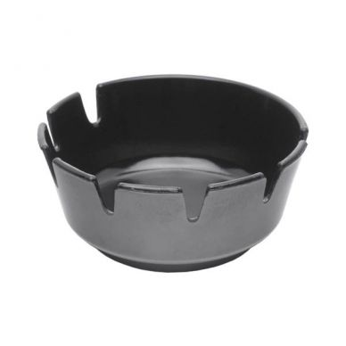 Black Deep Melamine Ashtray