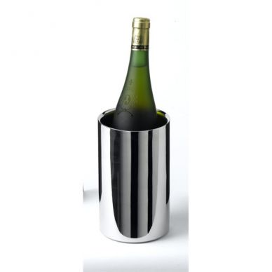 Stainless Steel Wine Cooler Polished Finish