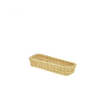 Polywicker Display Basket 32cm x 11cm x 5.5cm