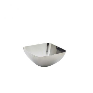 Stainless Steel Square Bar Snack Bowl (12 Pack)