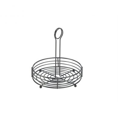 Black Wire Table Caddy 20cm x 21.5cm