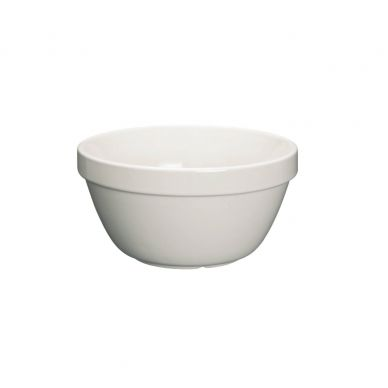 Home Made Stoneware 600ml Pudding Basin