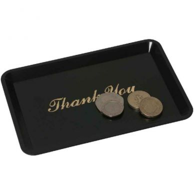Tip Tray 'Thank You' 4.1/2