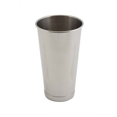 Genware Malt Cup 30oz/85cl Stainless Steel