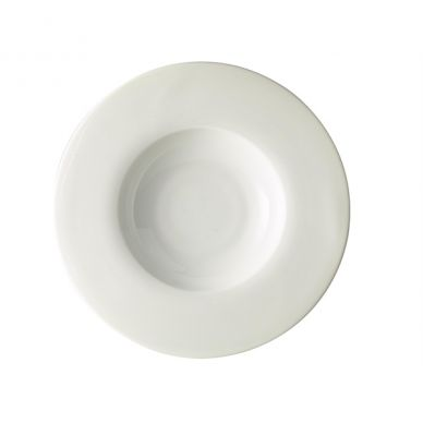 Royal Genware Wide Rim Pasta Plate 30cm (Pack 6)