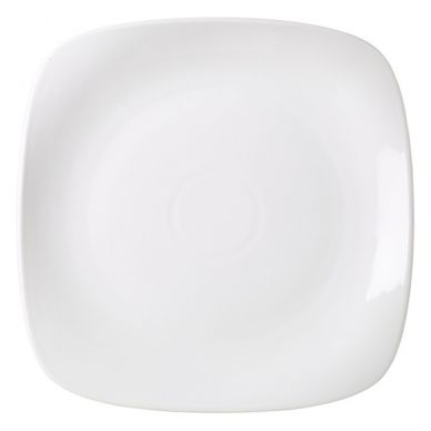 Royal Genware Rounded Square Plate 25cm (Pack 6)