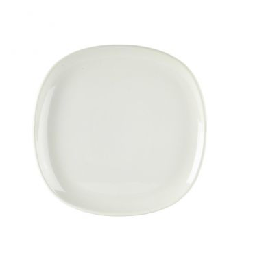 Royal Genware Ellipse Square Plate 26cm (Pack 4)