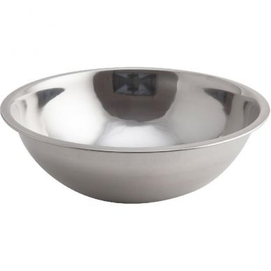 Genware Mixing Bowl Stainless Steel  0.62 Litre