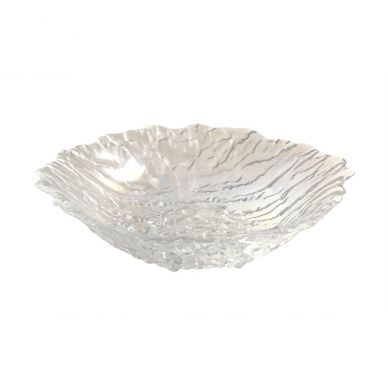 Glacier Glass Salad Bowl (25cm Diameter)
