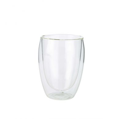 Double Walled Coffee Glass 35cl/12.25oz (6 Pack)