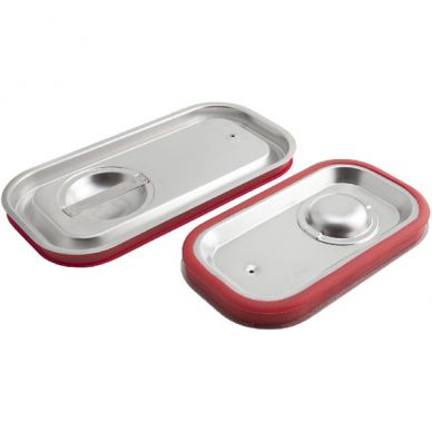 Stainless Steel Gastronorm Sealing Pan Lid 1/1 Size