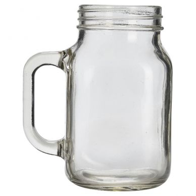 Glass Mason Jar 50cl/17.5oz (12 Pack)