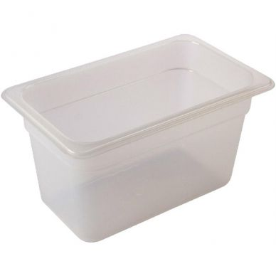 Polypropylene Gastronorm Pan 1/1 150mm Clear