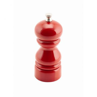 Red Acrylic Salt/Pepper Grinder 12.7cm