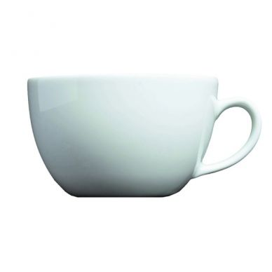 Royal Genware Bowl Shaped Cup 40cl (14oz) (6 Pack)