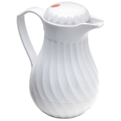 Insulated Swirl Jug White 1200ml (40oz)