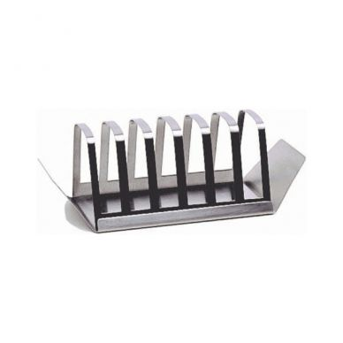 Stainless Steel Toast Rack With Crumb Tray