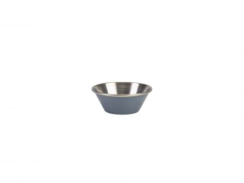 Genware Stainless Steel Grey Coloured Ramekin 43ml (1.5oz)