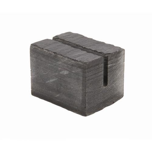 Genware Slate Cube Mini Sign Holder 3 x 2.5cm