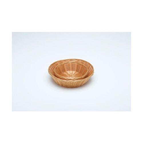 Round Polywicker Basket 241mm x 63mm